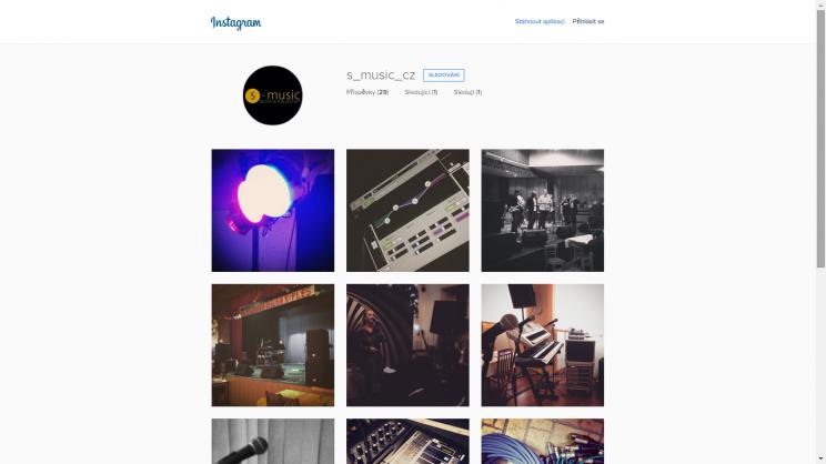Máme i Instagram